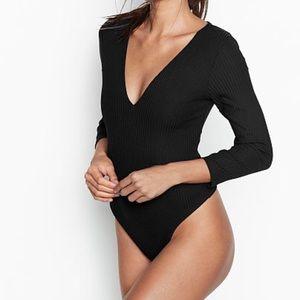 Victoria's Secret Ribbed Bodysuit